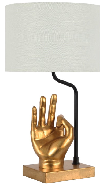 Hand Table Lamp with USB