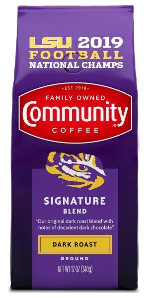 LSU bag community coffee