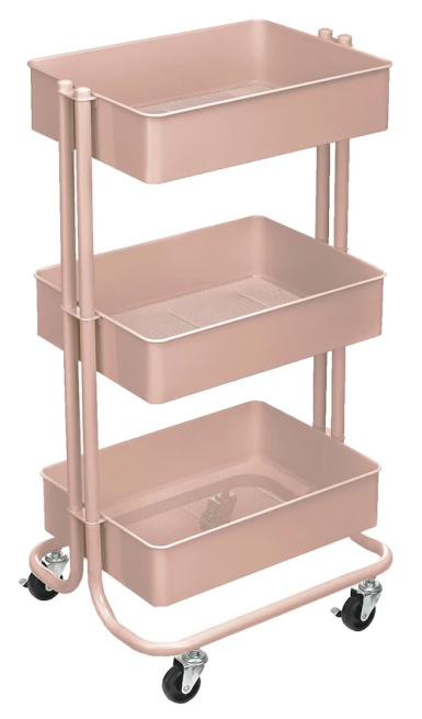 Lexington 3-Tier Rolling Cart by Simply Tidy™