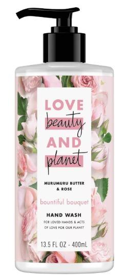 Love Beauty & Planet Murumuru Butter & Rose Bountiful Bouquet Hand Wash Soap