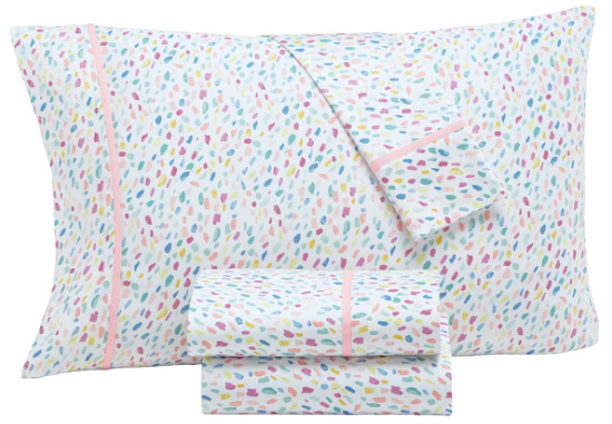 Whim by Martha Stewart Collection Novelty Print Twin Sheet Set