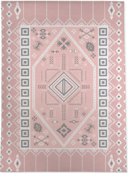 PAC PINK Area Rug by Kavka Designs
