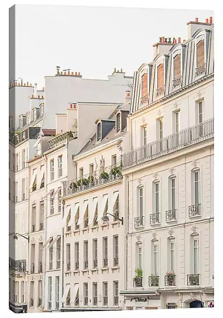 Paris Light Canvas Art Print