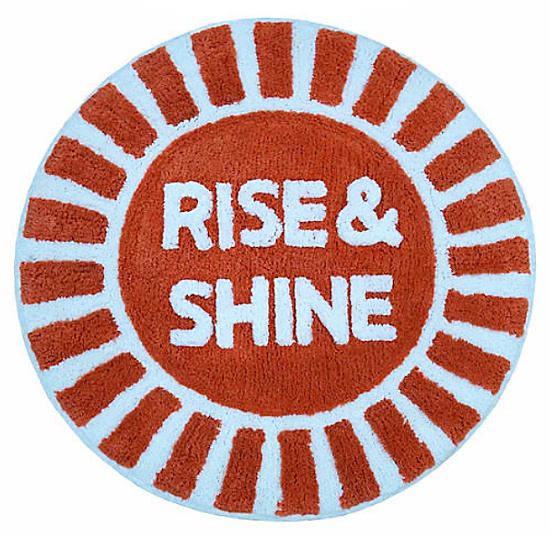 Rise & Shine 28 Bath Rug