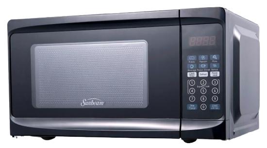 Sunbeam 0.7 cu ft 700 Watt Microwave Oven - Black