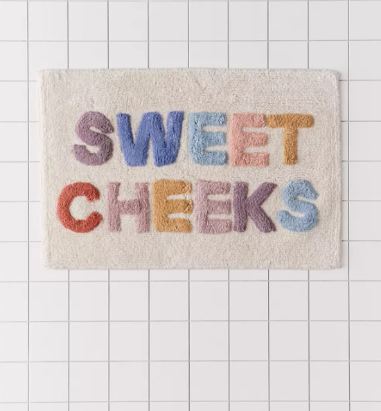 Sweet Cheeks Bath Mat