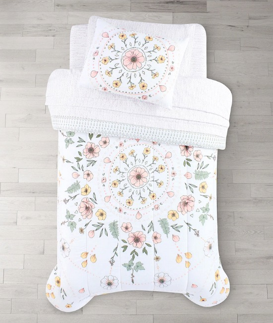 The Big One® Floral Medallion Reversible Comforter Set with Sheets