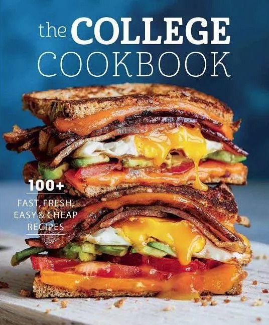 The College Cookbook - by Weldon Owen (Paperback)