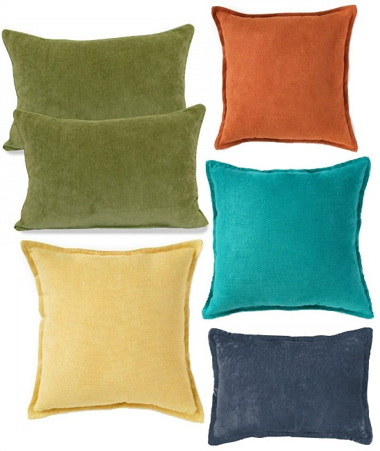 fall-colors-throw-pillows