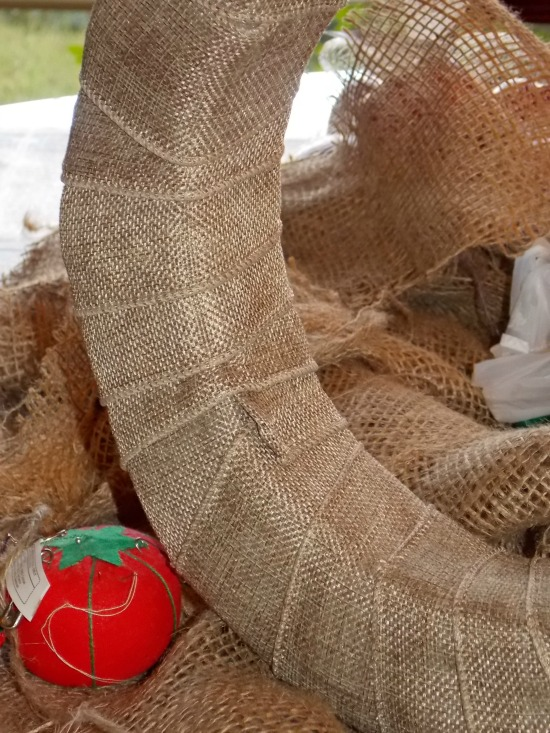 wrapped-wreath-form-burlap-ribbon
