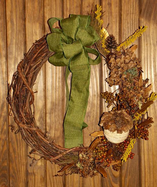 wreath DIY fall decor project ideas