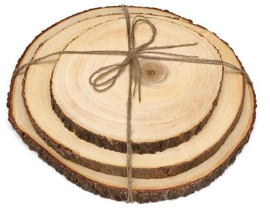Volkman+3+Piece+Acacia+Tree+Bark+Board+Set