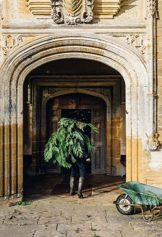 Christmas at Forde Abbey