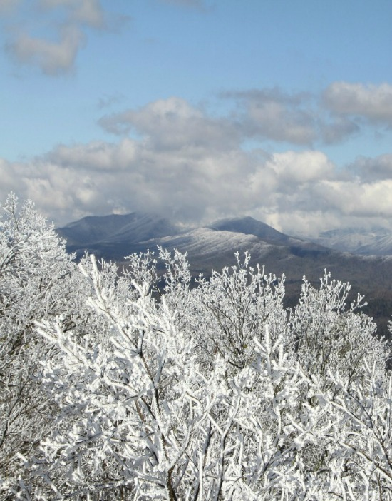 snow covered Smoky Mountains2