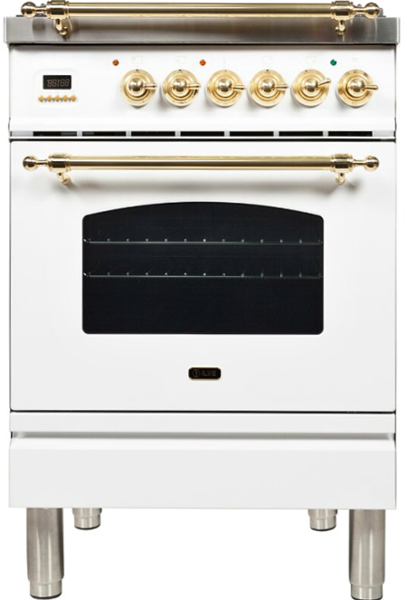 Nostalgie Series Freestanding Dual Fuel Range See More by ILVE