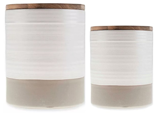 Bee & Willow Milbrook Small Canister in White