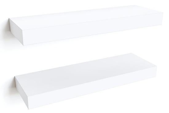 Modern+Floating+2+Piece+Wall+Shelf+Set