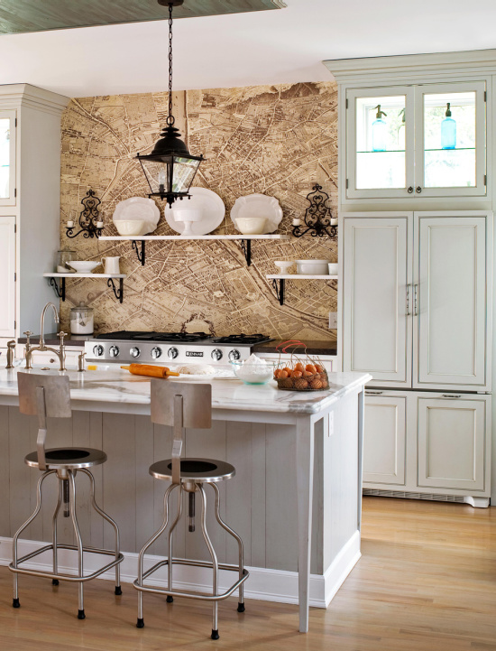 map-wallpaper-backsplash-idea-photo-John-Bessler