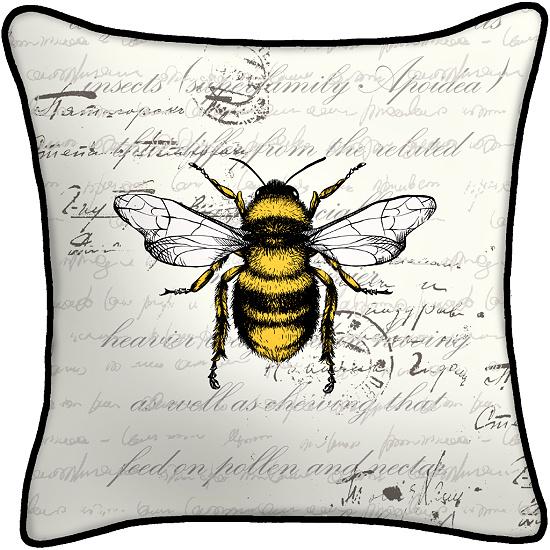 Bee-outdoor-pillow