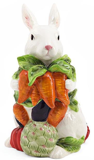 CORNERRUBY INTERNATIONAL carrot bunny figurine