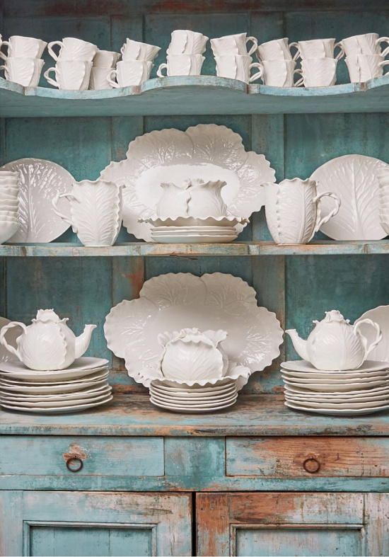 Tory Burch Home lettuce ware dishes