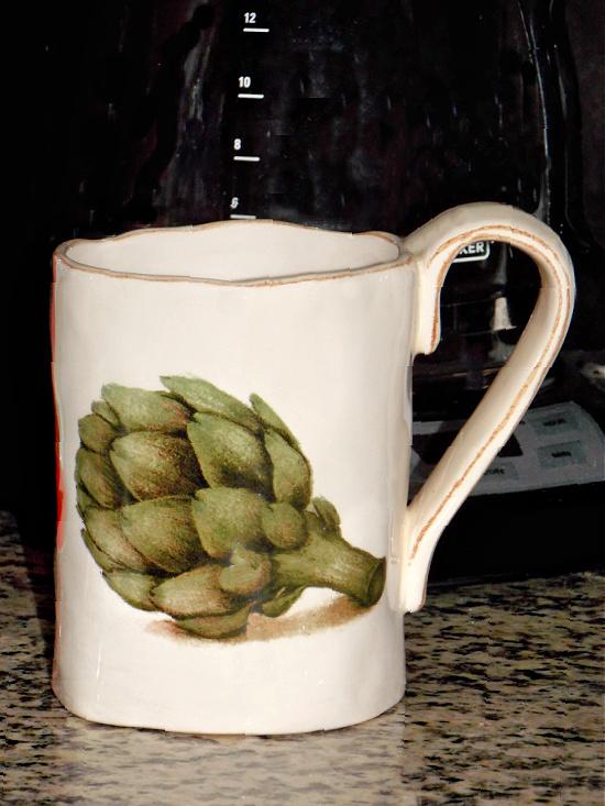 artichoke-mug