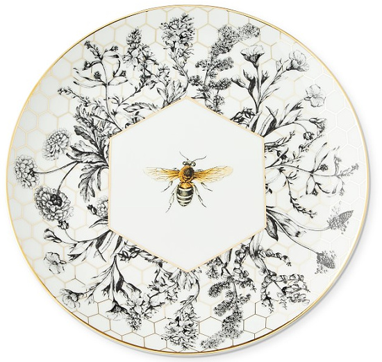 bee plates WS