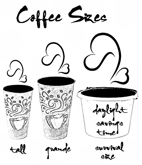 coffee sizes