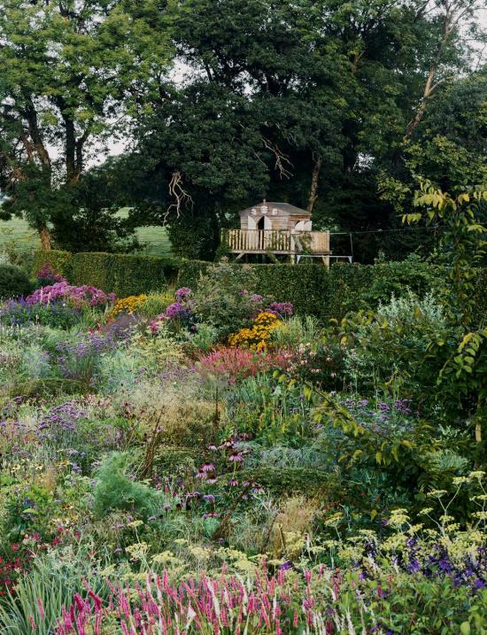 color-rich-English-cottage-garden