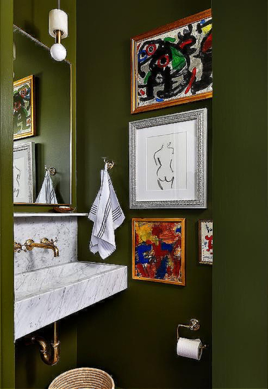 green-and-gold-powder-room-design