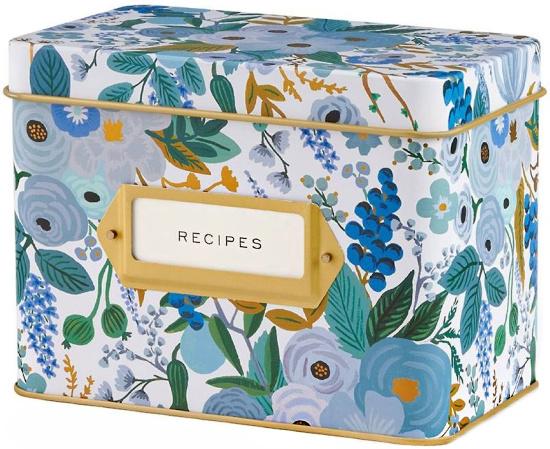 Rifle Paper Co. Garden Party Recipe Box