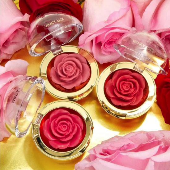 Winky Lux Cheeky Rose Blush