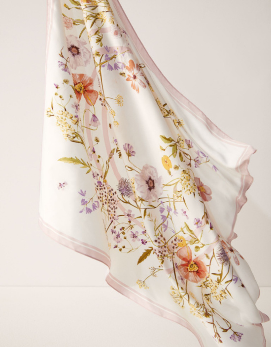 patterned-satin-scarf-cream-pink-flowers