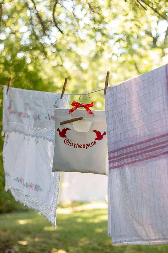 Clothespin-Bag-Decorated-with-Cricut-outside