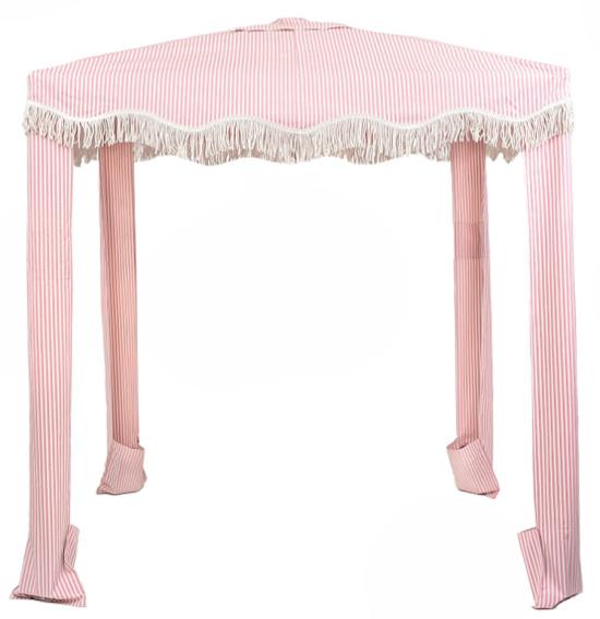 Business-pleasure-pink-white-striped-cabana