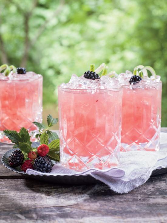 Summer Cobbler Cocktail