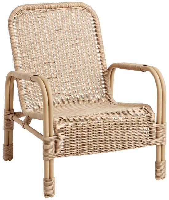 Natural Woven Wicker Antalya Outdoor Chair