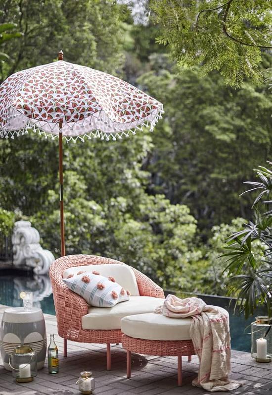 pink-peach-wicker-chair