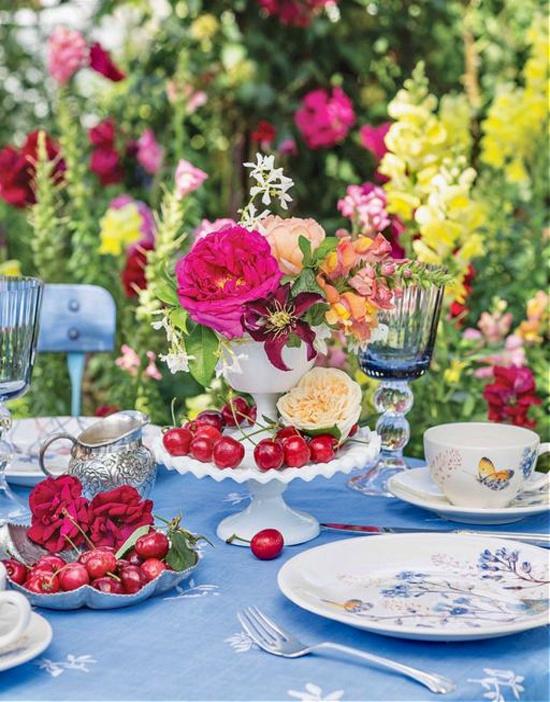 summer-tablescape-pink-roses-Southern-Lady-Magazine