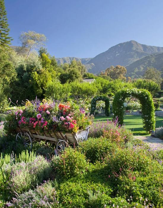 San Ysidro Ranch view