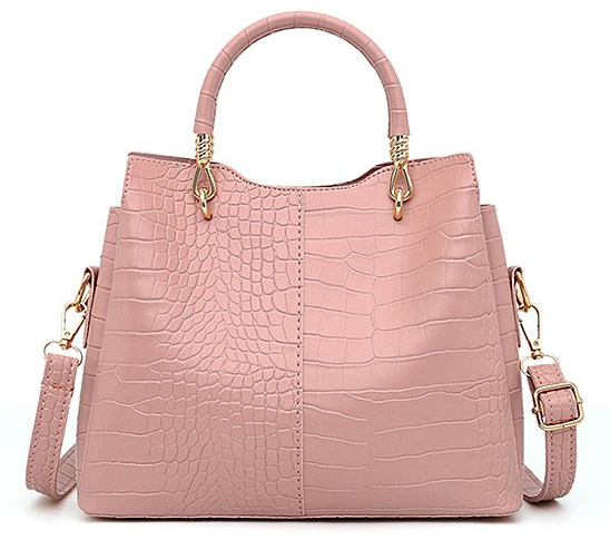 pink-croc-embossed-convertible-satchel