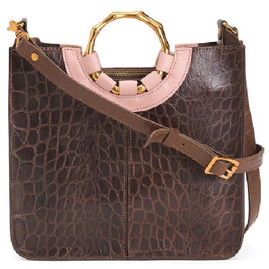 Nigel Leather Shoulder Bag