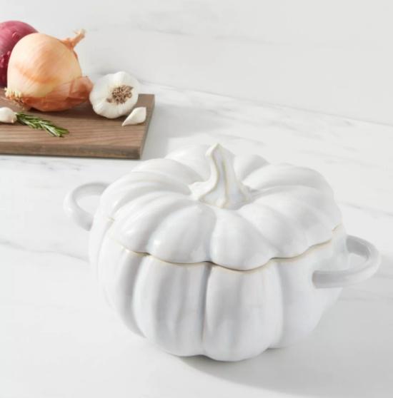 Stoneware Pumpkin Serving Dish - Threshold™