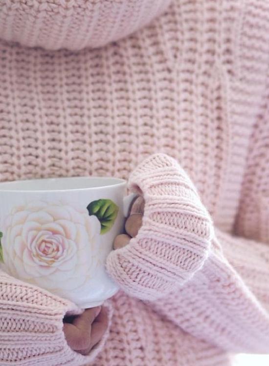 pink-turtleneck-knit-sweater